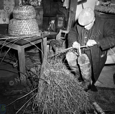 Mr T. Featherstone, Skep-maker, Farndale